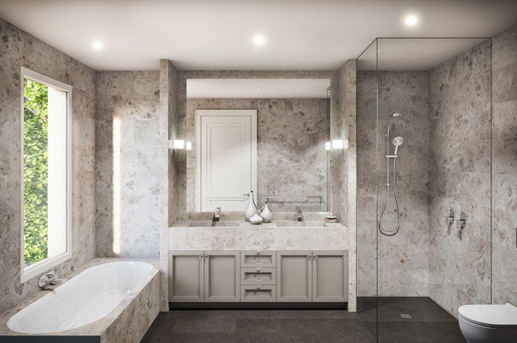 Maisonette Project, VCON | Bathroom KAYSTONE, AUSTRALIA
