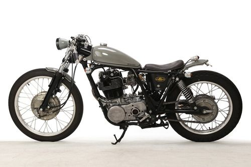 Bobber Inspiration | Yamaha SR400 Cafe Racer DesignSource | Bobbers and Custom Motorcycles