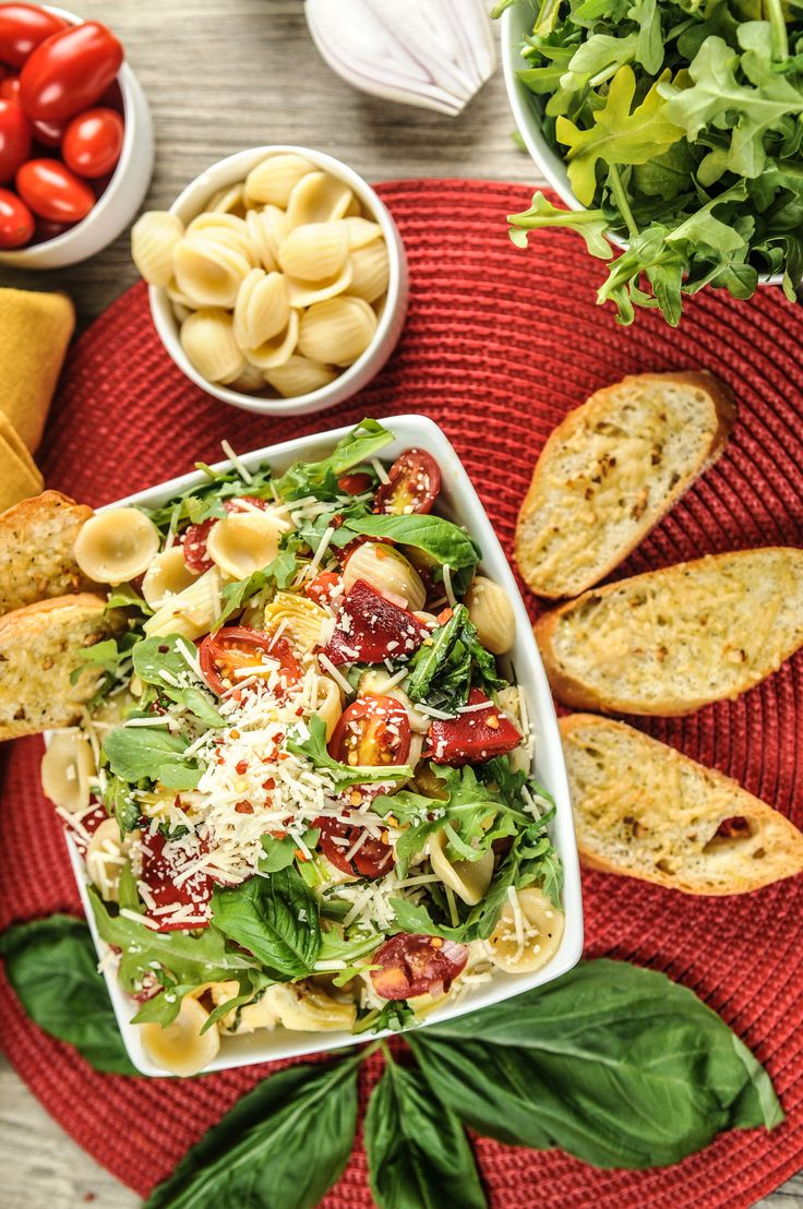 Orecchiette With Cherry Tomatoes And Arugula Recipes — Dishmaps