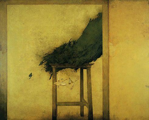 Gran bodegón (1989) Óleo 130 x 162 Cm.