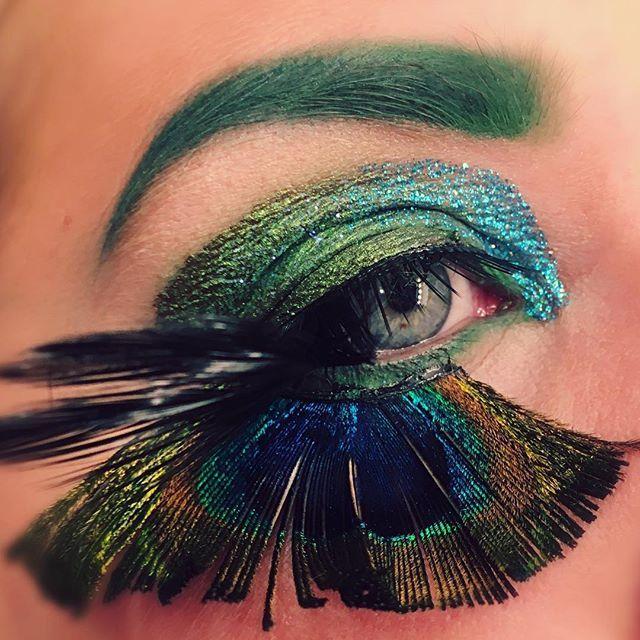Birds 🕊🍂🌿🕊🍂🌿 #eyemakeup #lotd #look #makeuplook #blueeyes #birds #illusions #illusion #makeupillusion makeup look