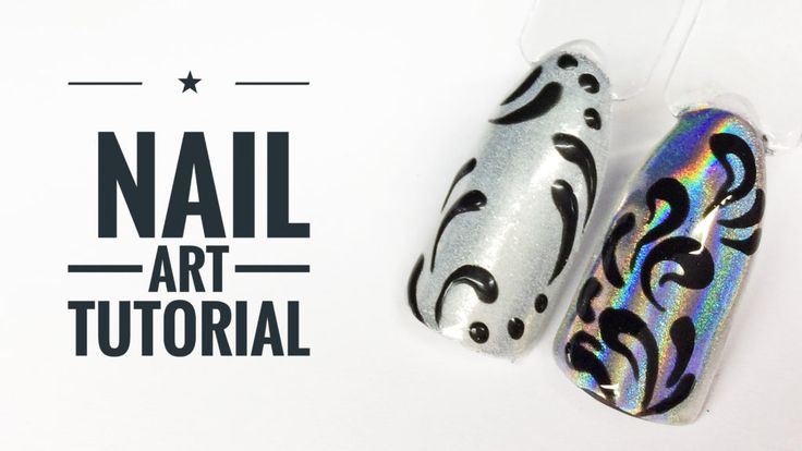 holo nail art tutorial