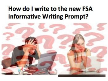 35 best FSA Writing Resources Secondary images on Pinterest ...