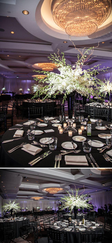 349 Best Black White Wedding Flowers Images On Pinterest