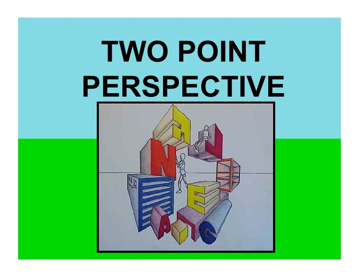 2-point-perspective by caitlin devendorf via Slideshare