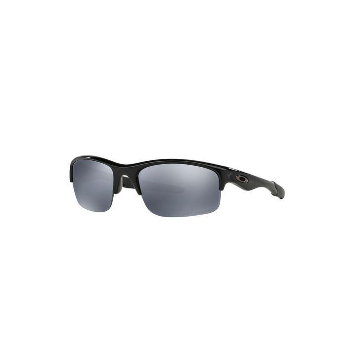 Oakley Bottle Rocket OO9164 62mm Wrap Polarized Sunglasses, Men's, Black