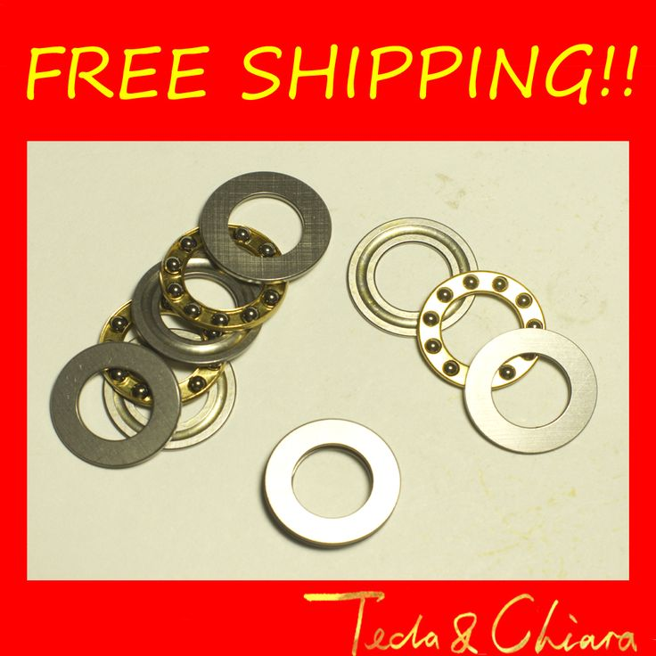 10Pcs F10-18M Axial Ball Thrust Bearing 10mm x 18mm x 5.5mm Free shipping High Quality #Affiliate