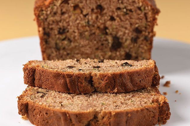 Greek-style yogurt and chopped walnuts and dates give this spicy zucchini bread its moist, nutty texture.