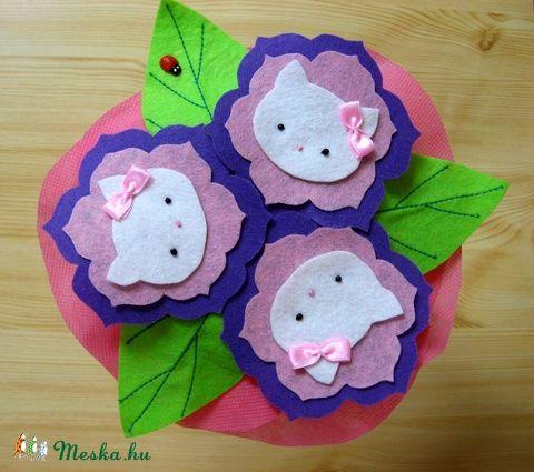 Meska - Hello Kitty-s virágcsokor kislányoknak   https://www.facebook.com/bellestidesign/