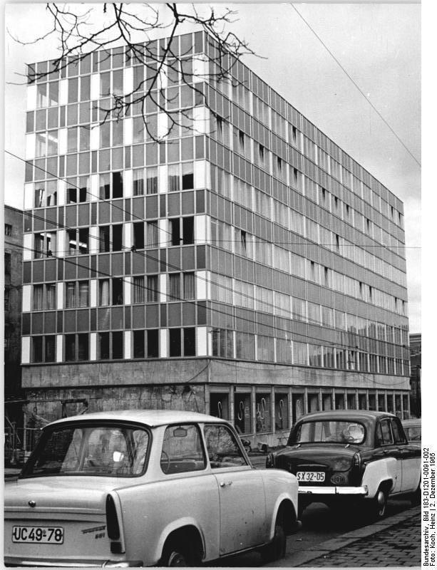 Leipzig Goethestrasse December 1965