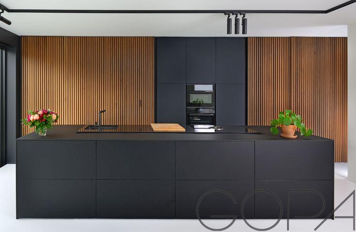 51 best strakke keukens images on pinterest - Keuken met kookeiland table ...