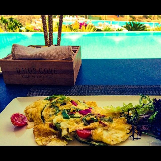 #DaiosCove #Resort #Crete #foodporn #egs #food #pool #service #colors #OceanClub #greece