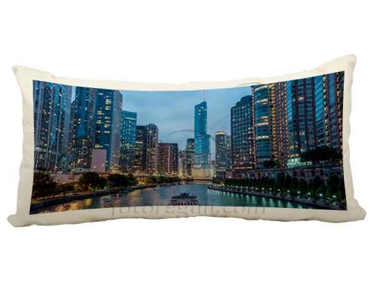 cuscino con foto in canvas