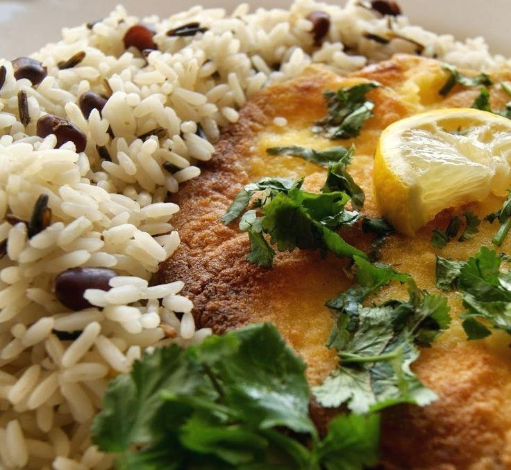 Tintureira frita com arroz selvagem   SAPO Lifestyle
