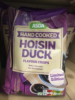 Asda Hand Cooked Hoisin Duck Crisps (uk)