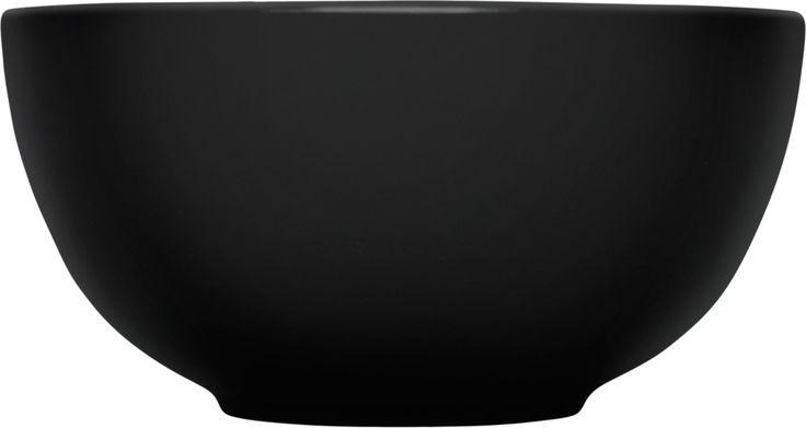 Iittala - Teema Bowl 1,65 l black - Iittala.com