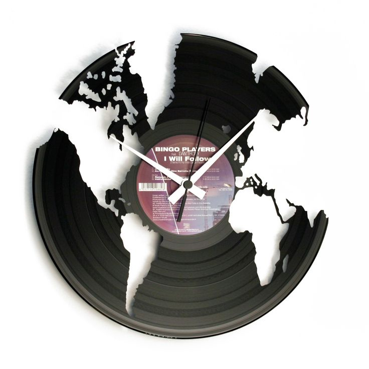 Disc'O'Clock Ceas de perete World