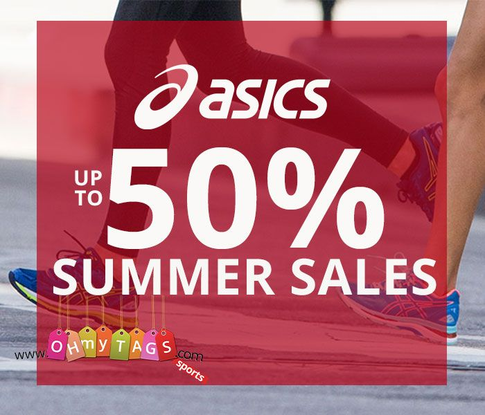 Asics Running Shoes Up To 50%.
