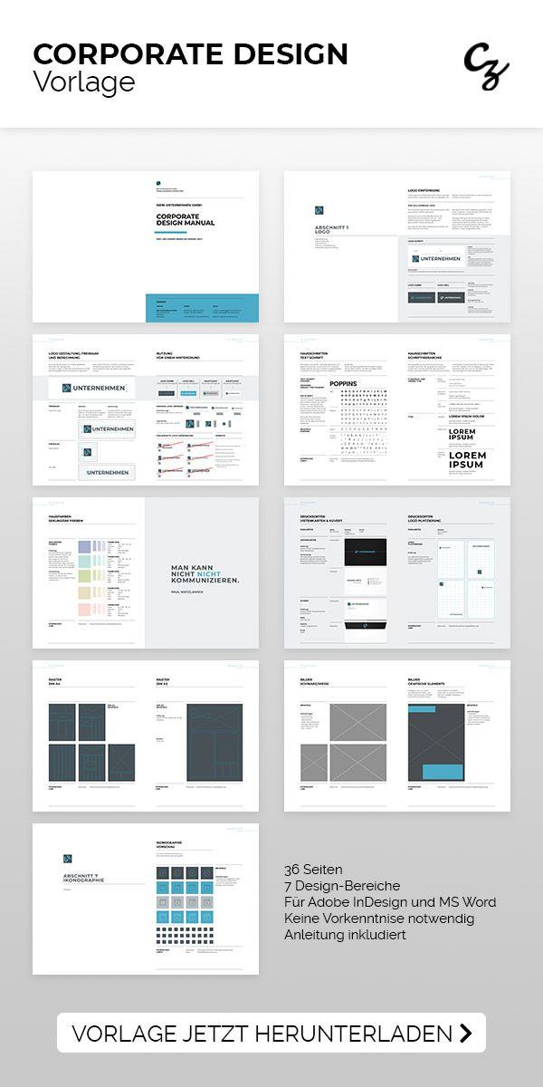 Vorlage Corporate Design Corporate Design Vorlagen Design