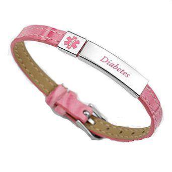 Ladies Diabetic Bracelets On Sale | Medical ID Bracelets and jewelry custom engraved for men, women ...