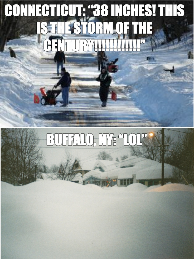 #buffalove lived 30 minutes east of Buffalo growing up. I do NOT miss snow!