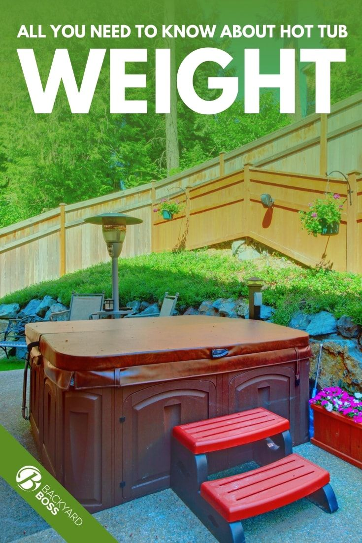 All You Need To Know About Hot Tub Weight Tub Building A Deck