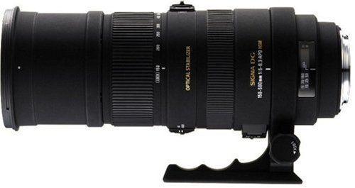 Sigma 150-500mm f/5-6.3 AF APO DG OS HSM Telephoto Zoom Lens for Nikon Digital SLR Cameras $1069.00