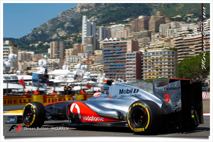 Monaco GP - Jensen Button