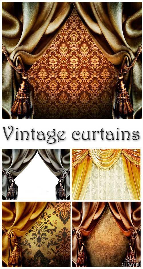 Винтажные шторы | Vintage curtains