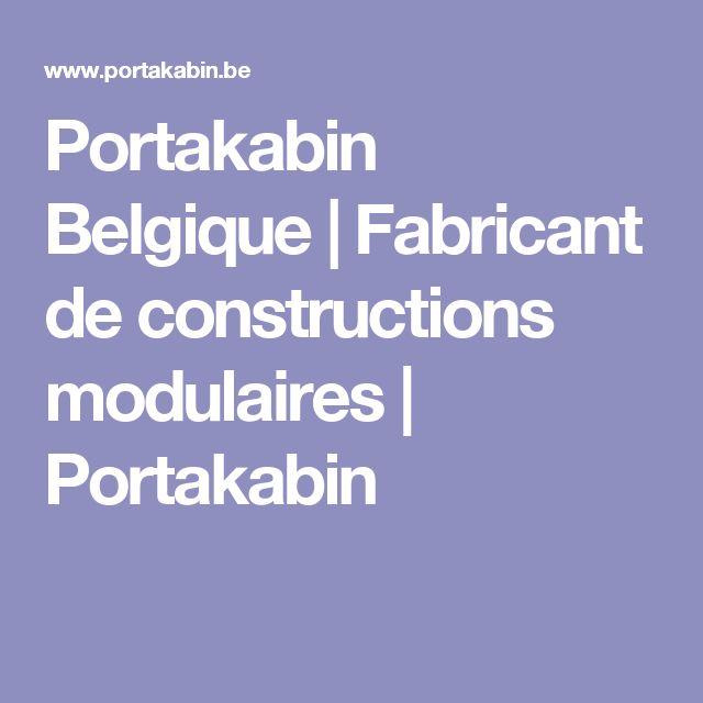 17 best ideas about construction modulaire on pinterest maison modulaire m - Fabricant maison container ...