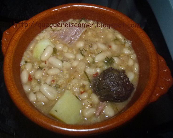 Olla de trigo (plato típico de Almería) : Mi recetario de cocina. Recetas y consejos.