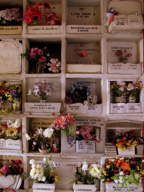 Cementerio General. Santiago, Chile.