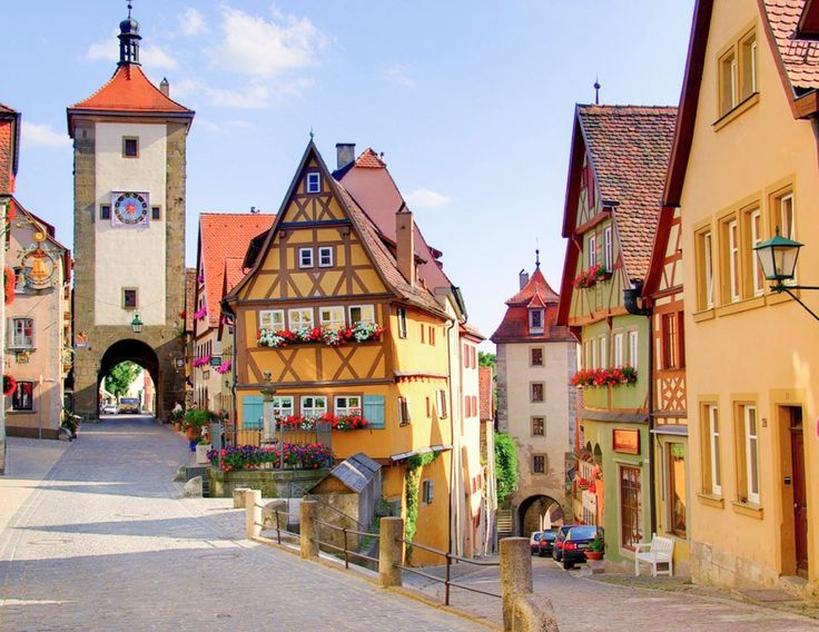 Beautiful Rothenburg Germany Ideas On Pinterest Rothenburg - 10 most enchanting towns in germany