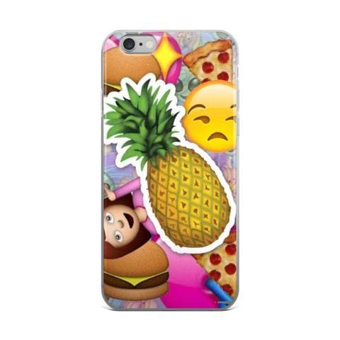 Pineapple Sad Face Girl Alien Pizza & Burger Emoji Collage Teen Cute Girly Girls Tie Dye iPhone 4 4s 5 5s 5C 6 6s 6 Plus 6s Plus 7 & 7 Plus Case - JAKKOUTTHEBXX - Pineapple Sad Face Girl Alien Pizza & Burger Emoji Collage Teen Cute Girly Girls Tie Dye iPhone 4 4s 5 5s 5C 6 6s 6 Plus 6s Plus 7 & 7 Plus Case - JAKKOU††HEBXX - JAKKOUTTHEBXX