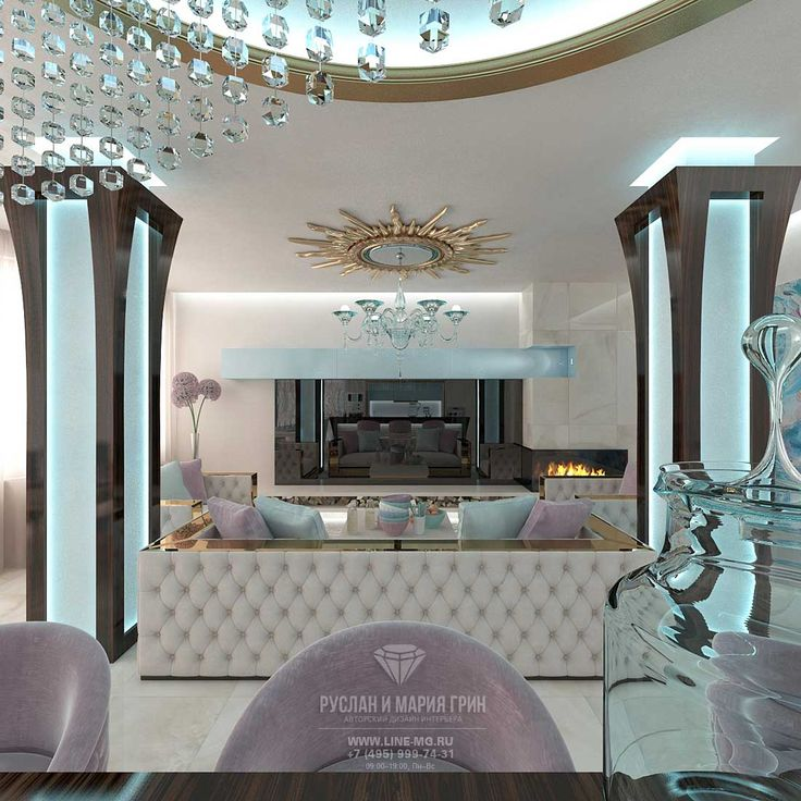 Дизайн гостиной в доме  http://www.interior-design.biz/dizayn-zagorodnogo-doma-ruza-family-park