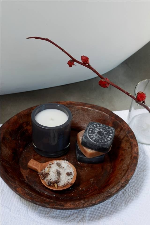 """Scent is the strongest tie to memory."" - Maggie Stiefvater Unlock your senses and make memories in your home with our fragranced candle range – available at #LoadsofLiving. http://bit.ly/1XdKU4H4 #SouthAfrica #bathroom #decor #candles"