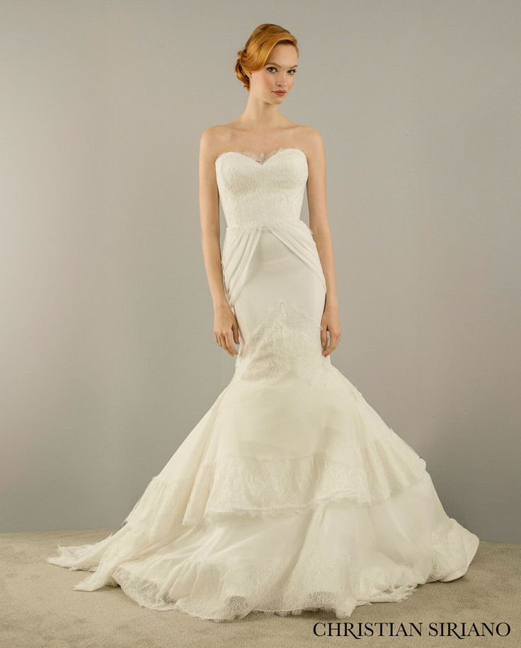 Wedding gown by Christian Siriano for Kleinfeld