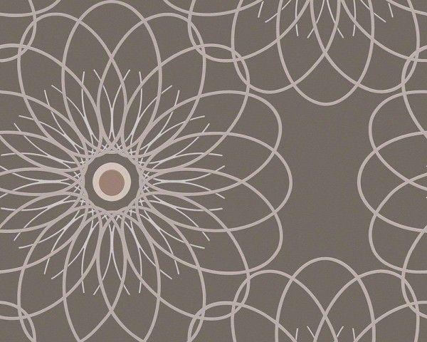 Vliesová tapeta hnědo-bílá 9129-47 | specializovaná prodejna tapet