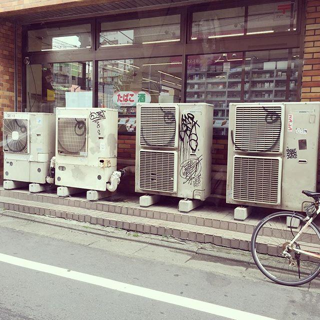 #japan#tokyo#meguro#ftfs#室外機ボム