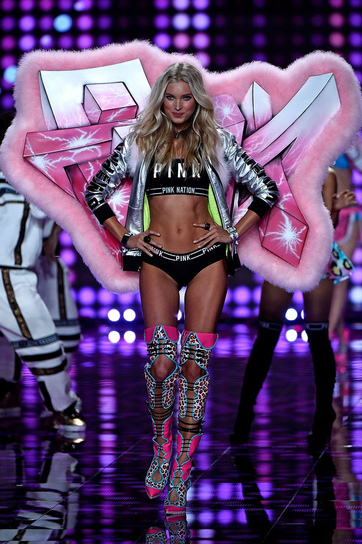 All The Runway Looks From The 2014 Victoria's Secret Fashion Show #VSFashionShow2014 #London #Elle fave wings!