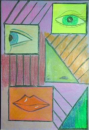First Grade Art Lesson | Looking at Picasso
