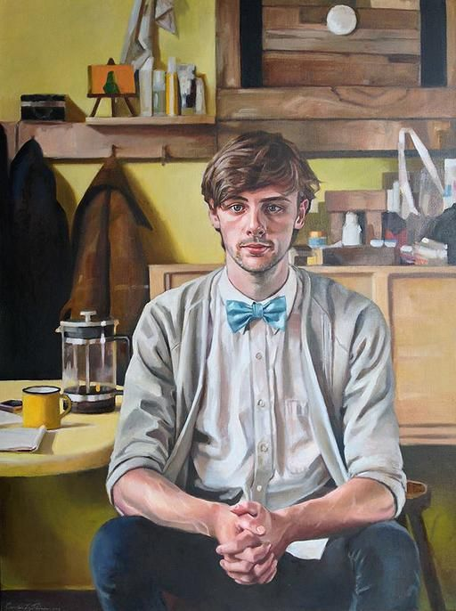 Carolin L. Prinn / Portraiture / Oil on Belgian Linen / ADAM Portrait Award Finalist - Touring nationally with the NZPG to PAH Homstead TSB Bank Wallace Arts Centre, Thomas Percy Gallery, among others #Portrait #Painting #Gallery #NewZealand #Oil
