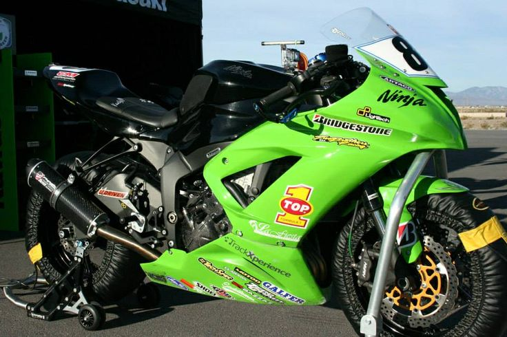 The DDR Kawasaki ZX-6R
