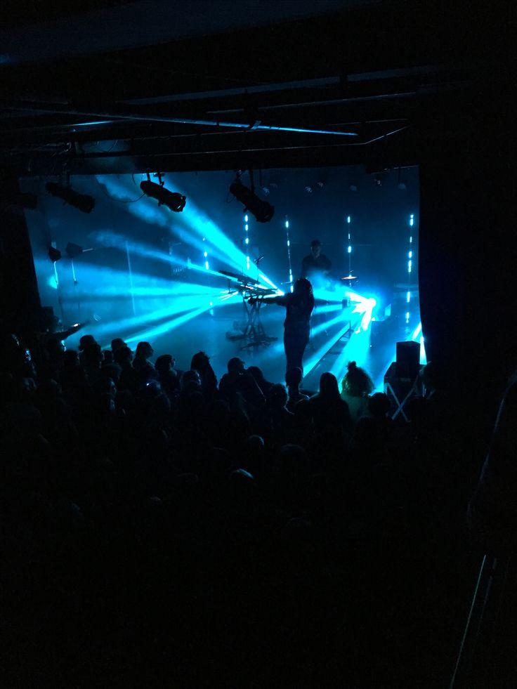 November 2016. Mura Masa koncert på Vega.
