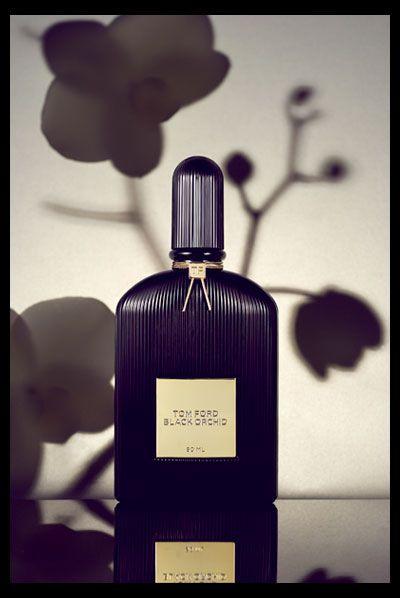 Tom Ford Black Orchid -- botanical shadows