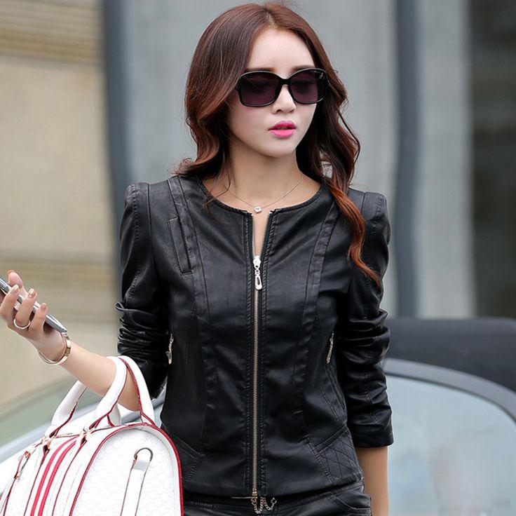 Купить товар201 autu7mn M 3XL большой размер кожаная куртка женская мода с короткими Высокое качество PU кожаная куртка женская верхняя одежда в категории Кожа и замшана AliExpress. 201 autu7mn M-3XL большой размер кожаная куртка женская мода с короткими Высокое качество PU кожаная куртка женская верхняя одежда