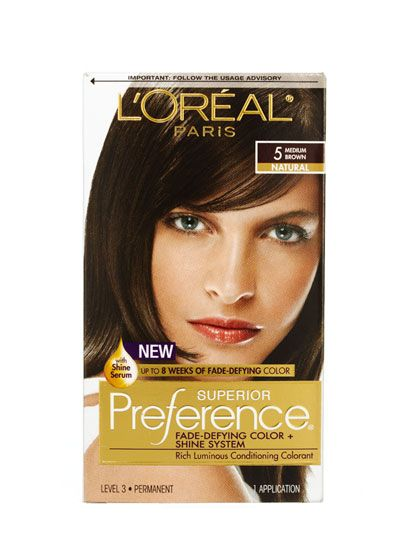 2012 Allure Reader's Choice Awards - Best Home Hair Color - L'Oréal Paris Superior Preference Fade-Defying Color and Shine System