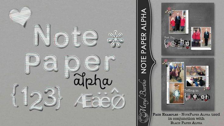 Note Paper Alpha