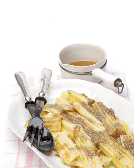 #Cardi con salsa bagna cauda #ricetta #senzaglutine #cooking