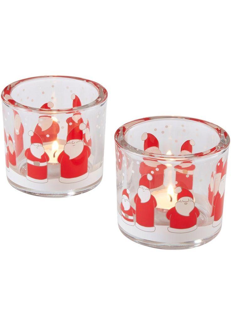 Două suporturi de lumânări mici cu design adorabil de Crăciun, ideale pentru decorarea specifică acestei perioade sau pentru a făcute cadou persoanelor dragi! Ambele suporturi sunt realizate din sticlă robustă, frumos pictate cu motive drăgălaşe cu Crăciunei. Se livrează fără lumânări. Material superior: sticlă